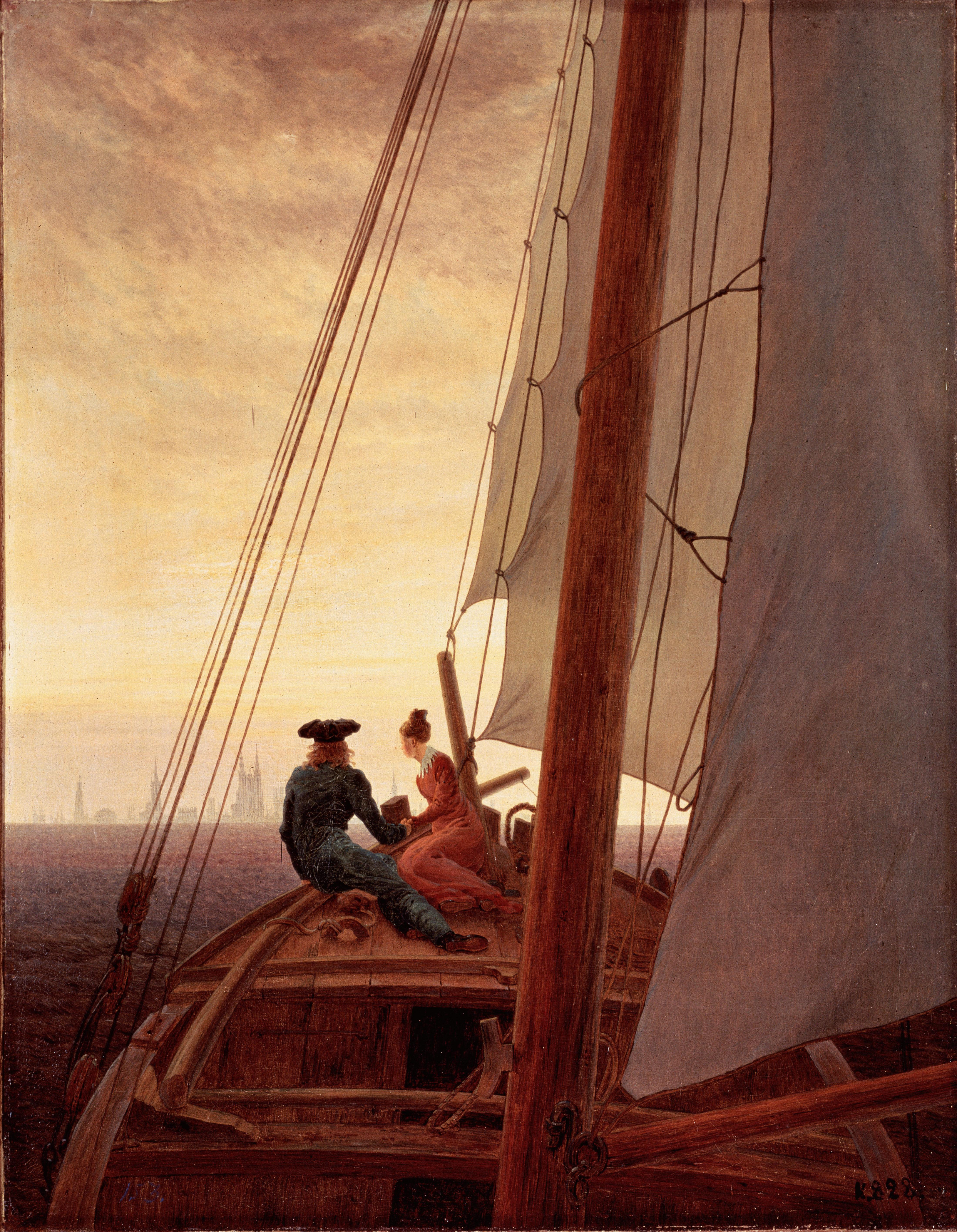 Człowiek i morze (Baudelaire, przekł. Lange)