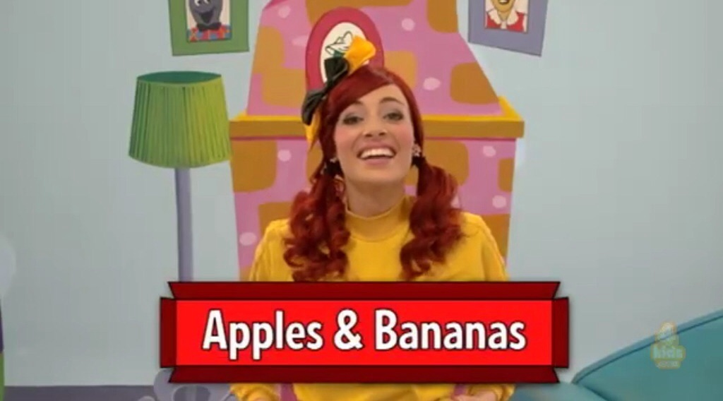 Apples and Bananas (Ready, Steady, Wiggle! episode)/Gallery
