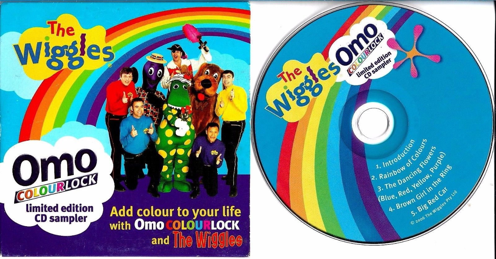 Omo Colourlock Limited Edition CD Sampler