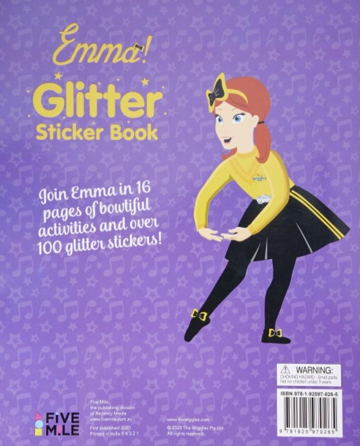 Emma! Glitter Sticker Book