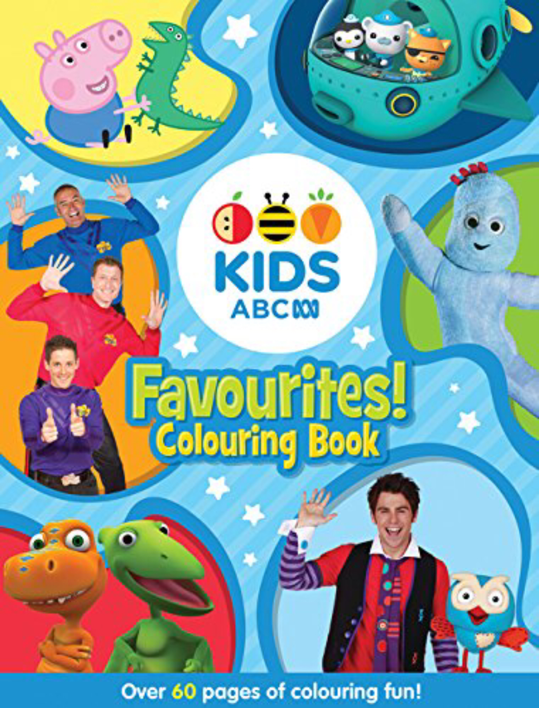 ABC KIDS Favourites! Colouring Book (blue book)