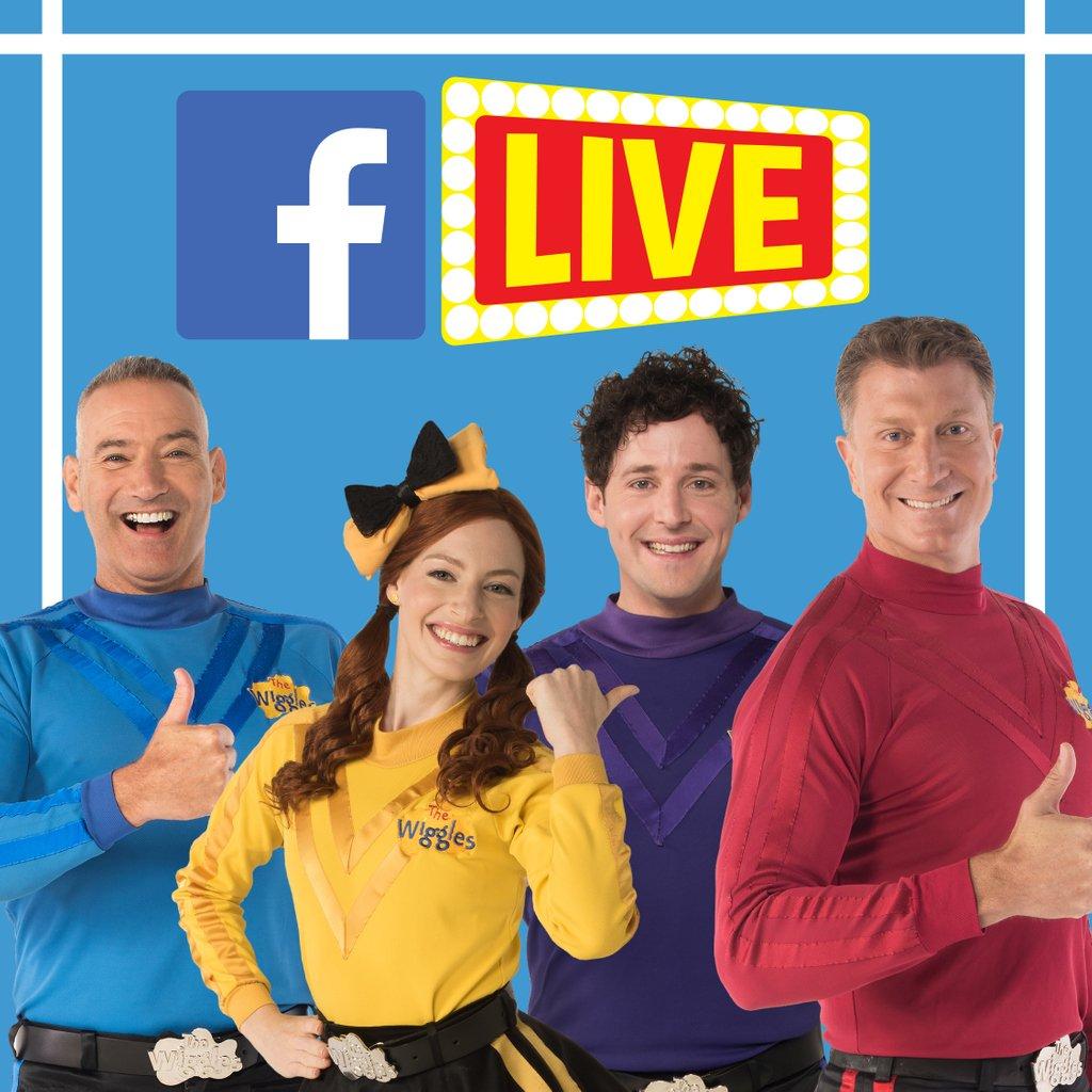 Facebook Live Wiggle Fun! Pre-show