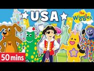 The Wiggles- 4th of July Party! - USA Special! Sing and Dance to Songs about America! Songs for Kids