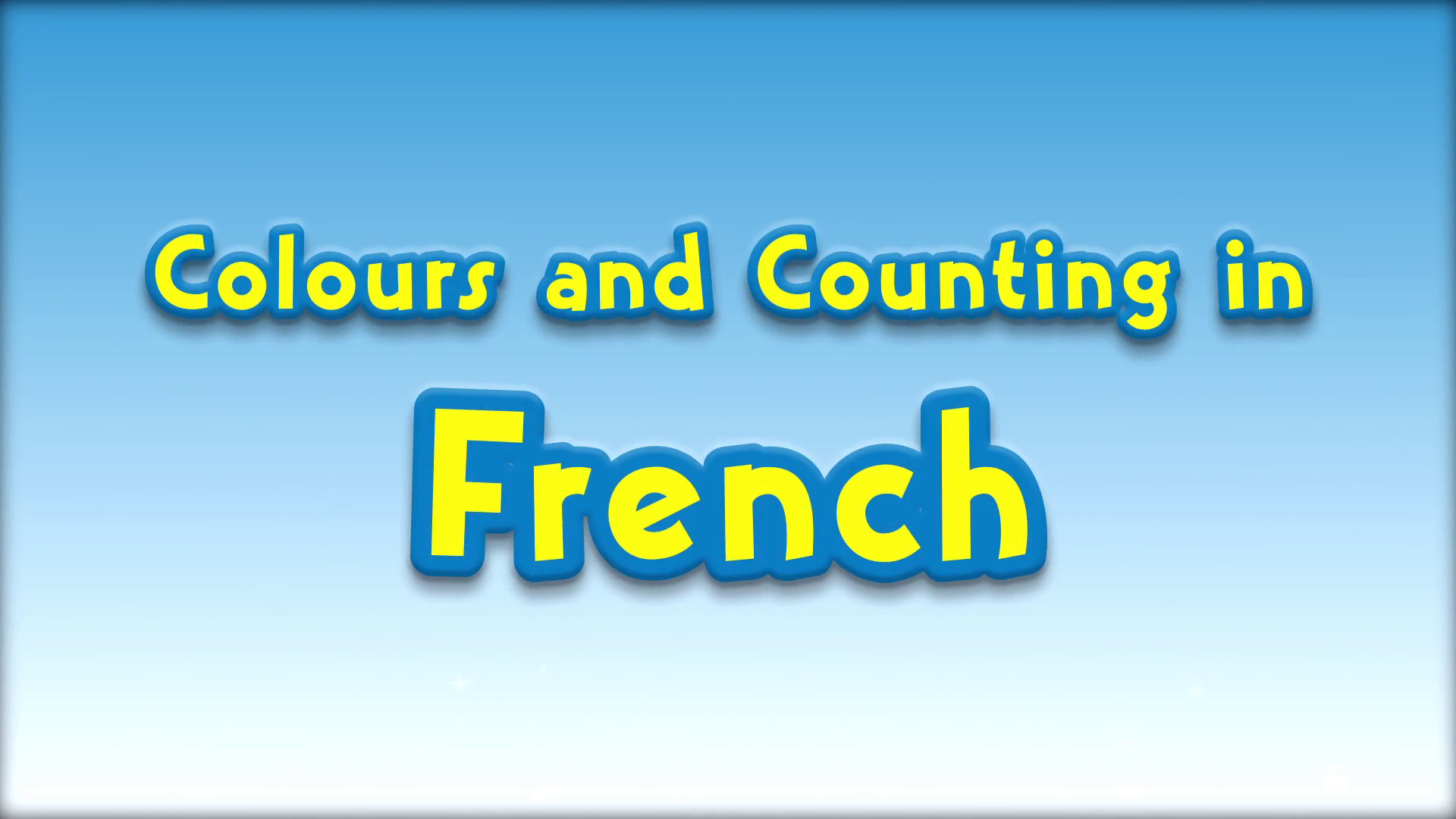 Colours and Counting in French