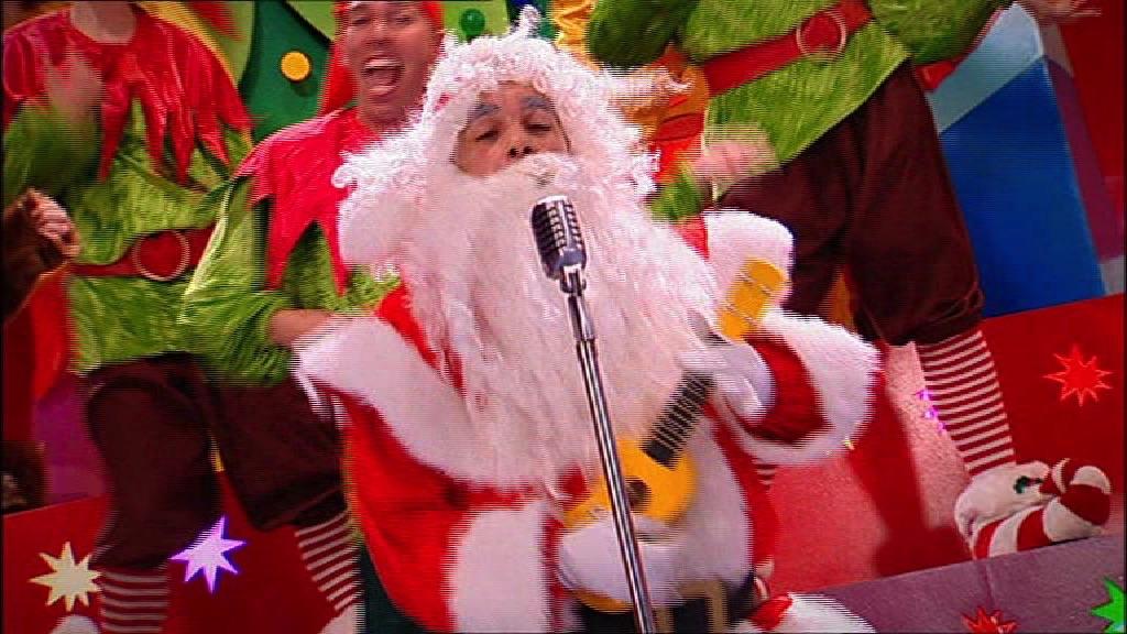 Rockin' Santa!