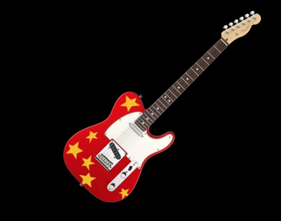 "Fender American Vintage Telecaster (""Red Starry Guitar"")"