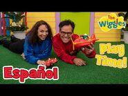 Los Wiggles- ¡Playtime con Zoé y Francisco presentando al Gran Avión Rojo!
