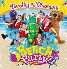 Dorothy the Dinosaur's Beach Party 2012