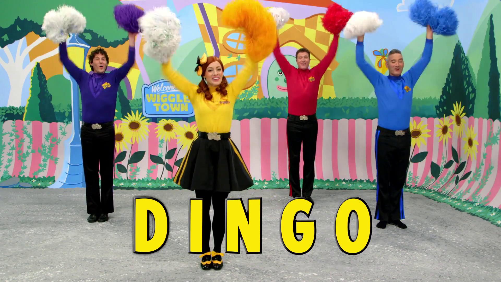 D-I-N-G-O