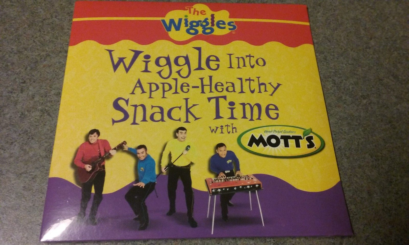 Wiggle Into Apple-Healthy Snack Time