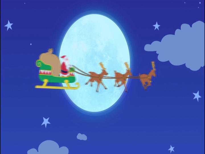 Riding On Santa's Sleigh
