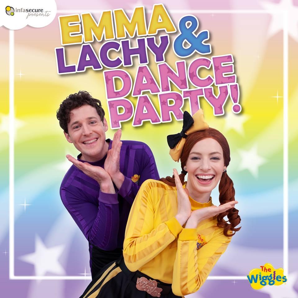 Emma & Lachy Dance Party!