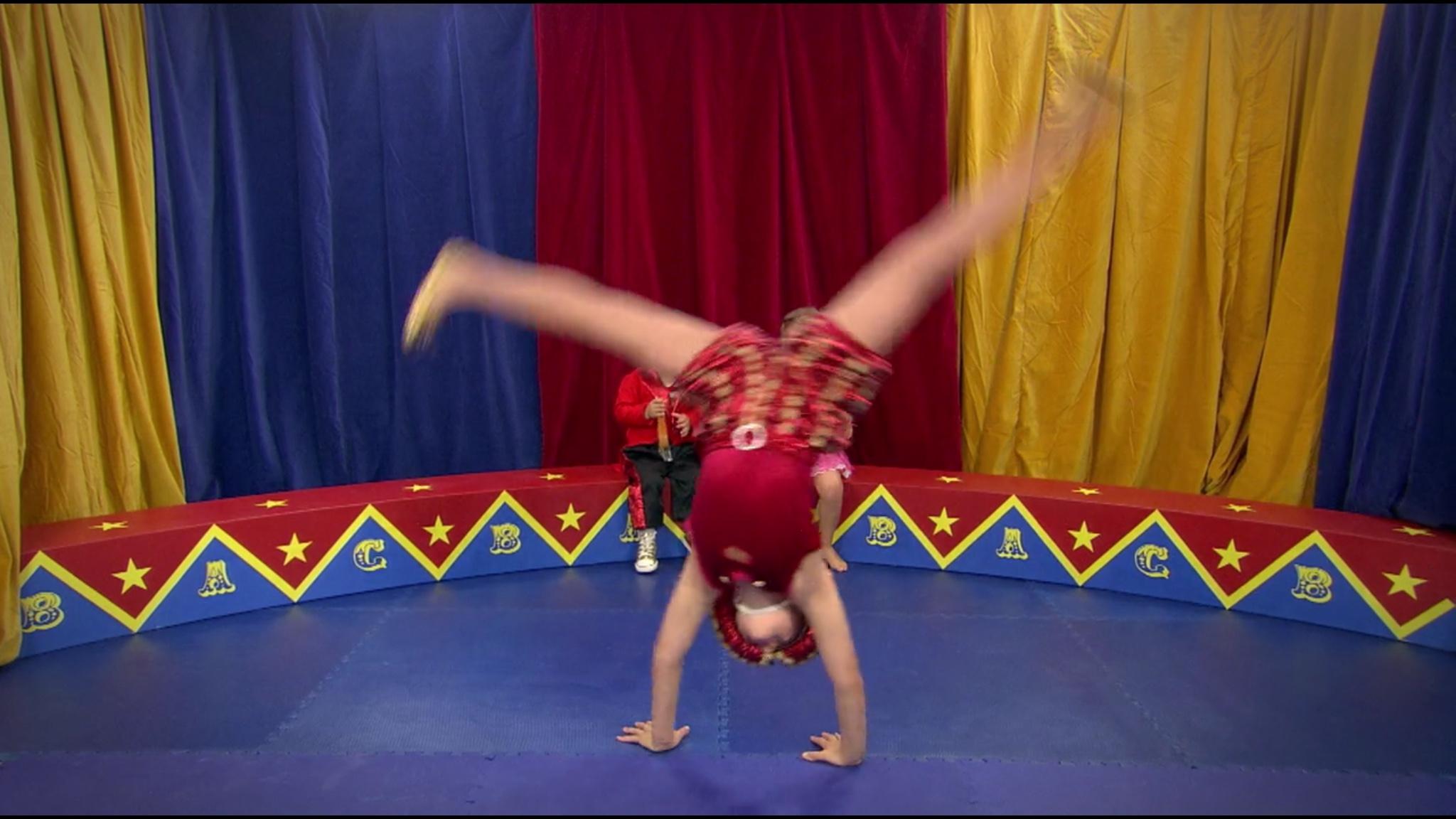 Cartwheels!