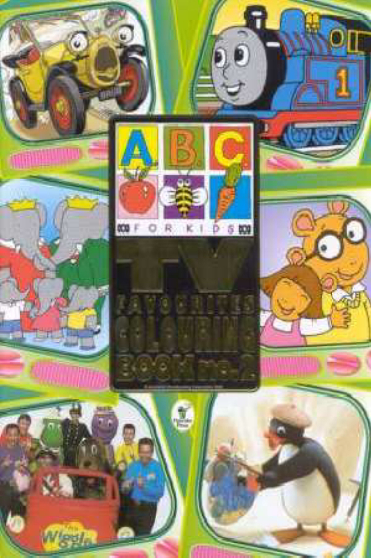 ABC For Kids TV Favourites Colouring Book no.2