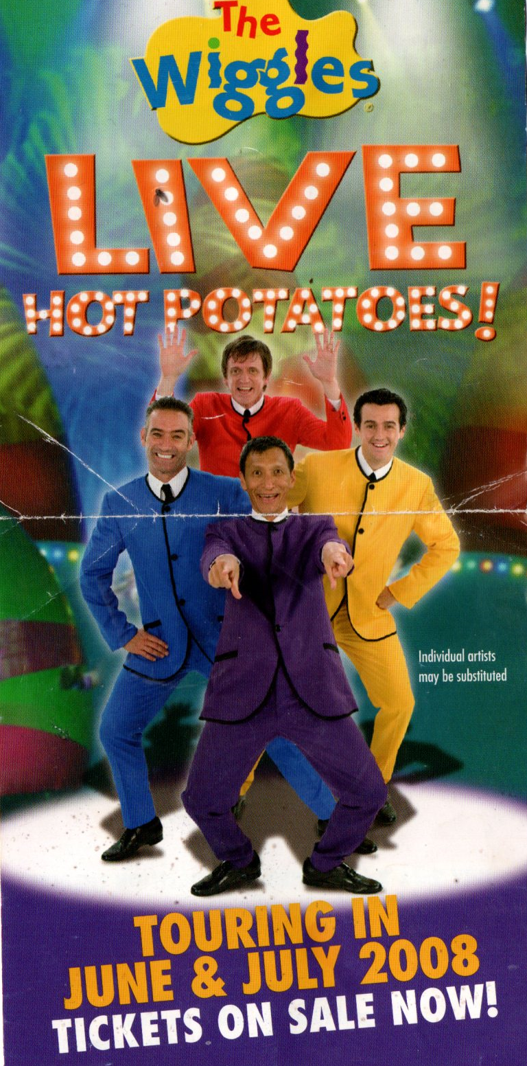 LIVE Hot Potatoes! (2008 tour)