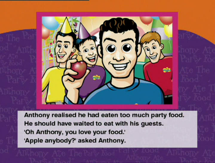 Anthony Ate the Party Food