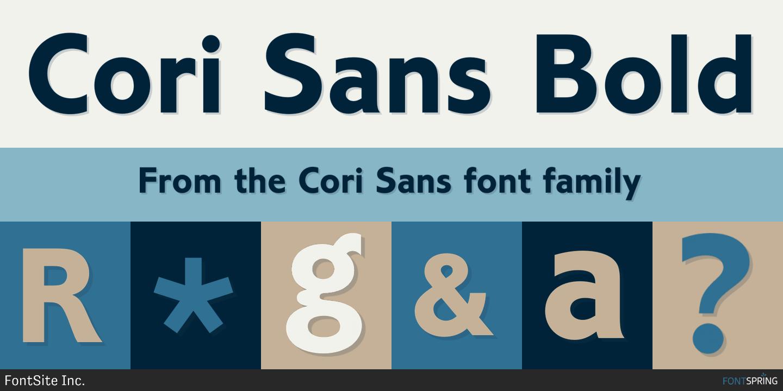 Cori Sans Bold