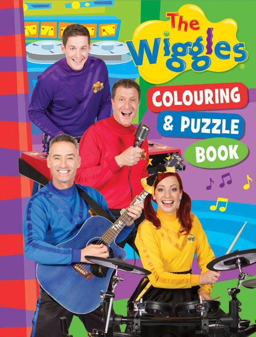 Colouring & Puzzle Book