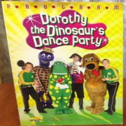 Dorothy the Dinosaur's Dance Party Program