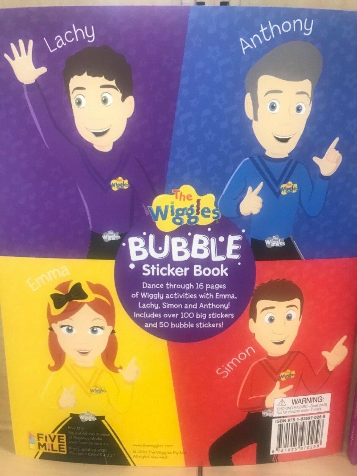 Bubble Sticker Book