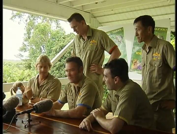 'Making Of' interview with The Wiggles & Steve Irwin