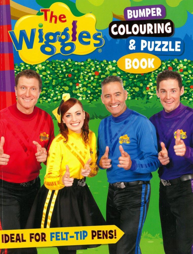 Bumper Colouring & Puzzle Book