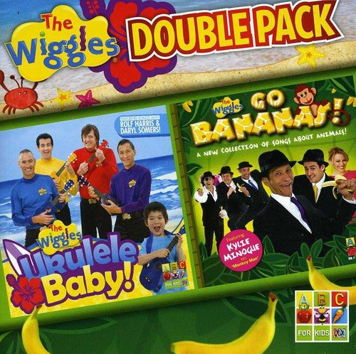 Double Pack: Ukulele Baby! + The Wiggles Go Bananas!