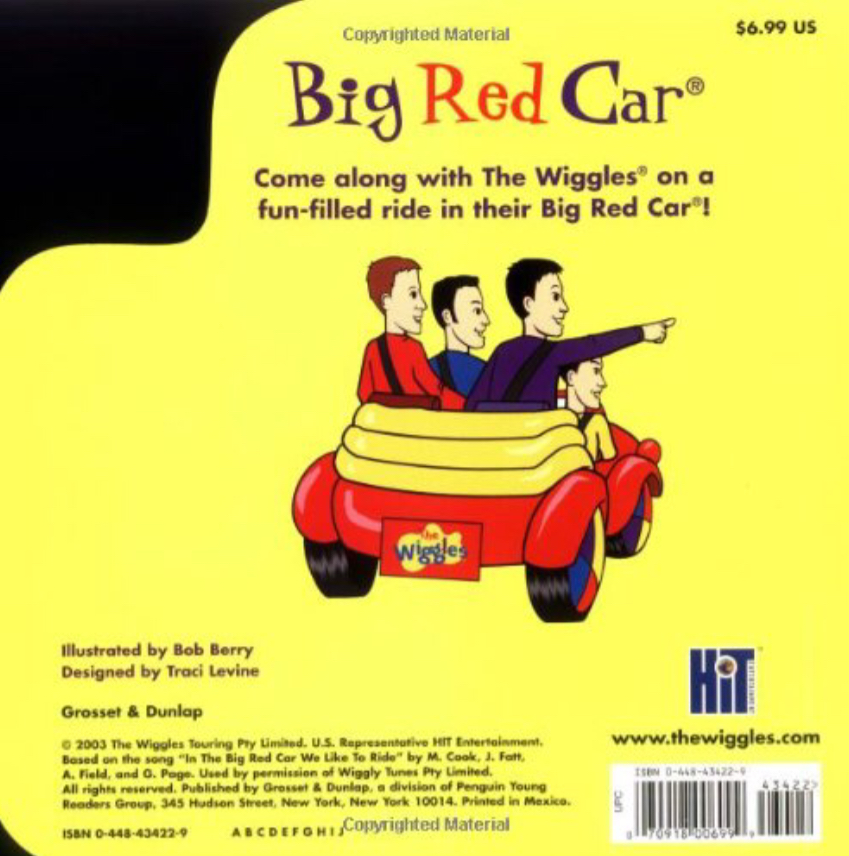 Big Red Car (book)