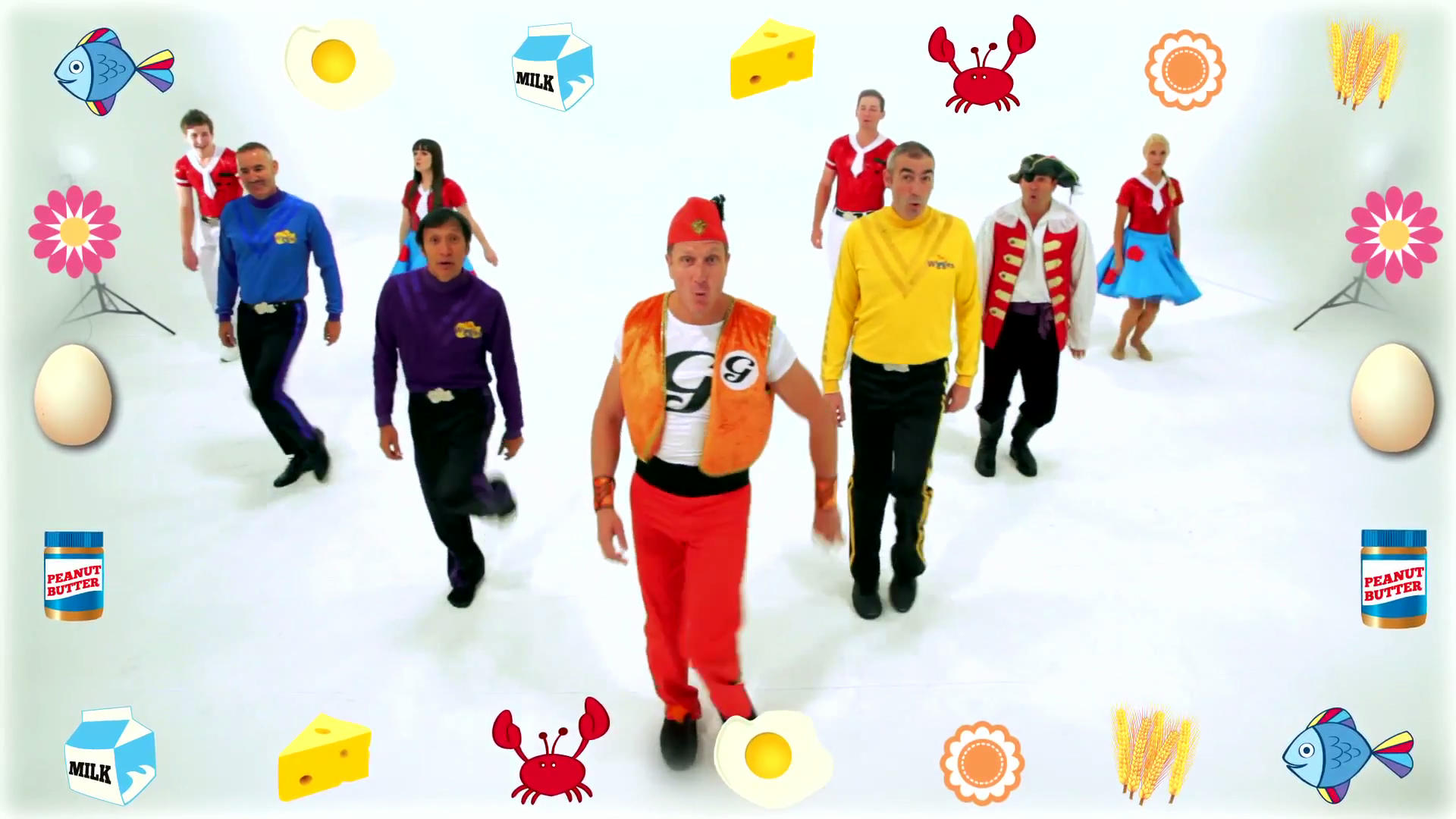 The Wiggles - The Allergy Song/Gallery