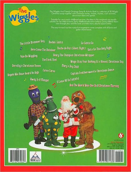 Christmas Song & Activity Book