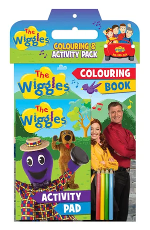 Colouring & Activity Pack (2019 book)