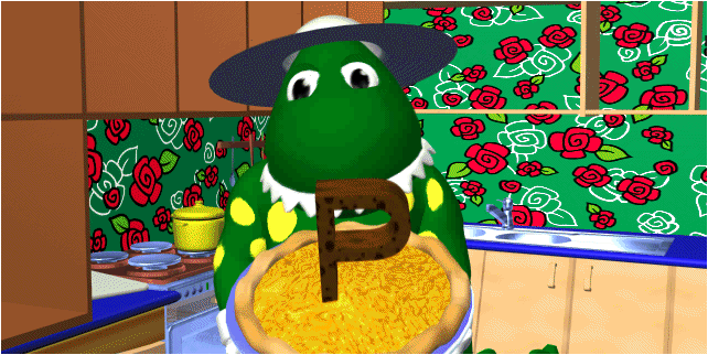 Cooking with Dorothy the Dinosaur