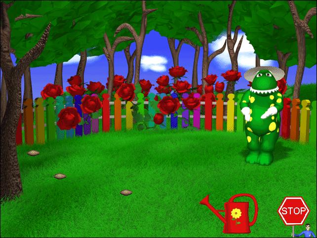 Gardening with Dorothy the Dinosaur