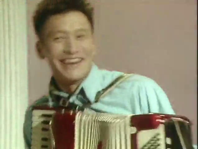 Jeff's Accordion Playing Skit