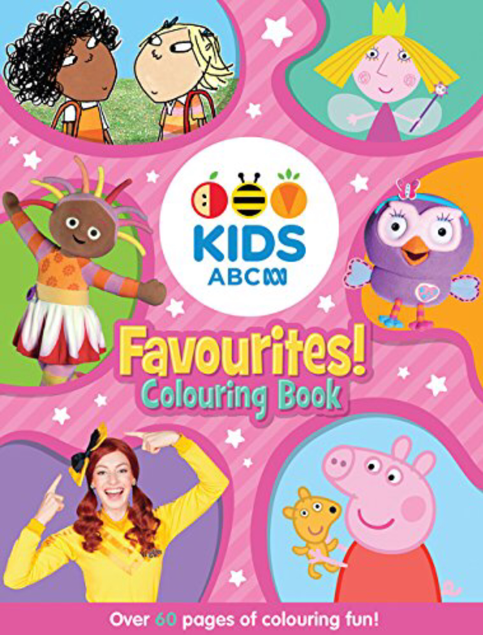 ABC KIDS Favourites! Colouring Book (pink book)