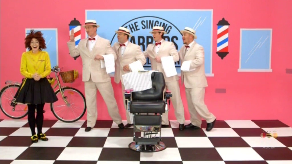 The Singing Barbers