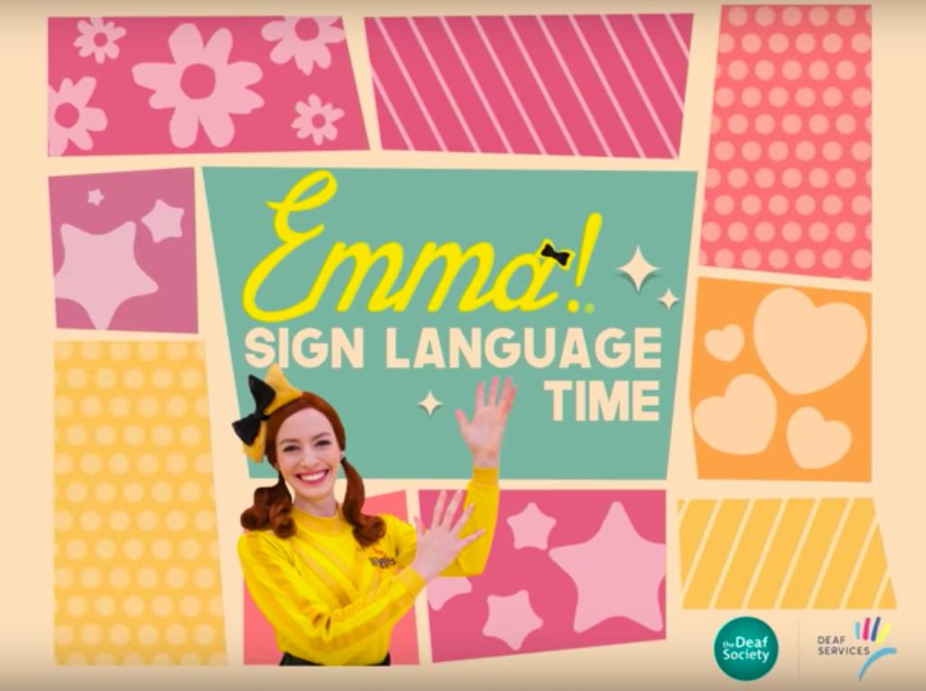 Emma Sign Language Time
