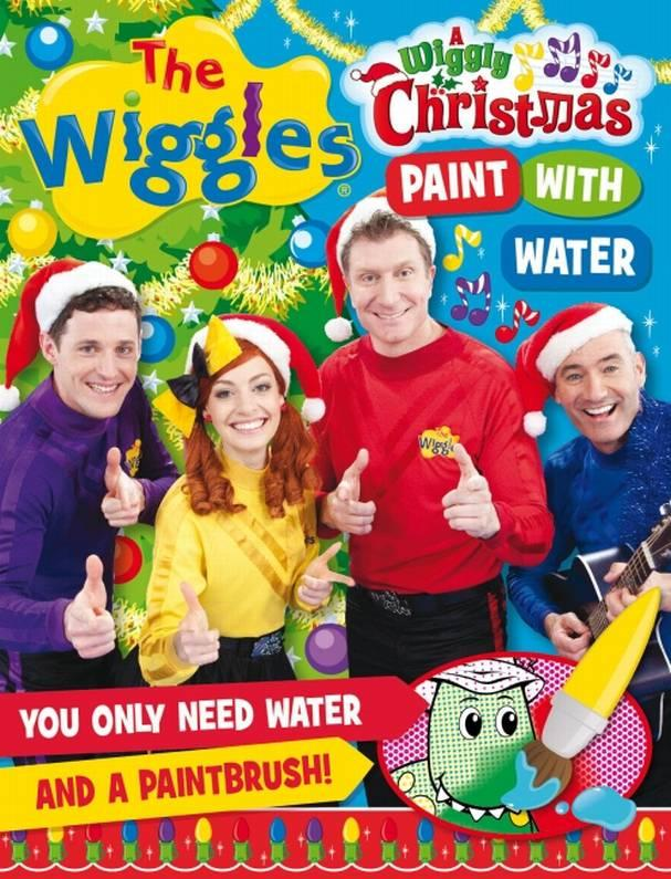 A Wiggly Christmas Paint With Water