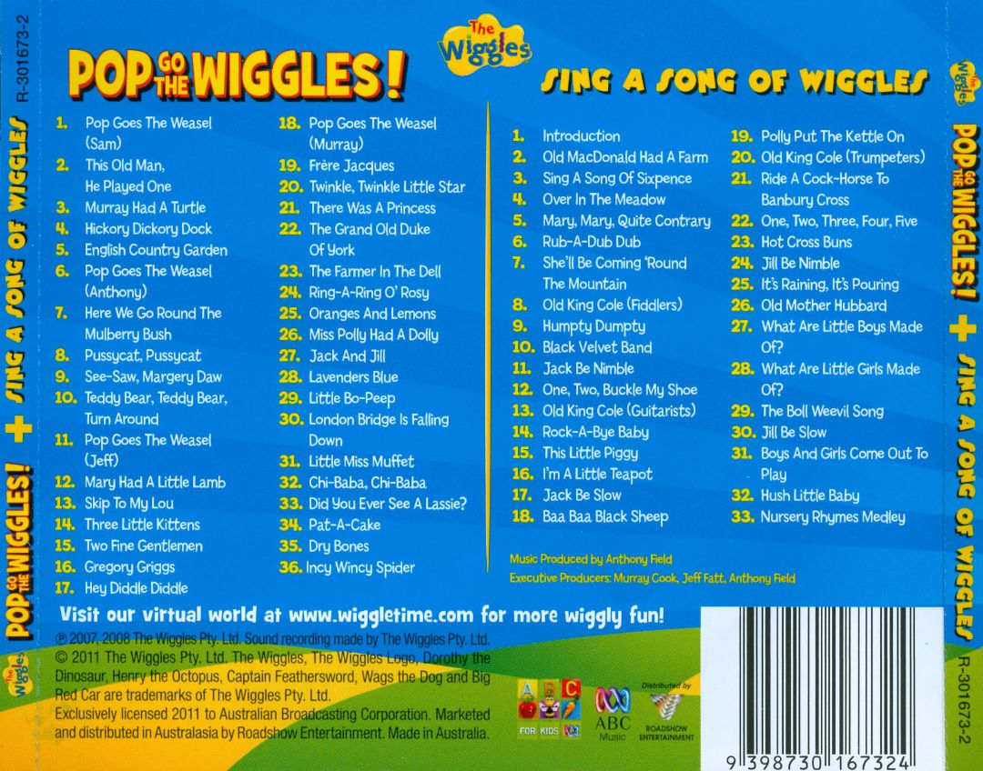 Double Pack: Pop Go The Wiggles! + Sing a Song of Wiggles