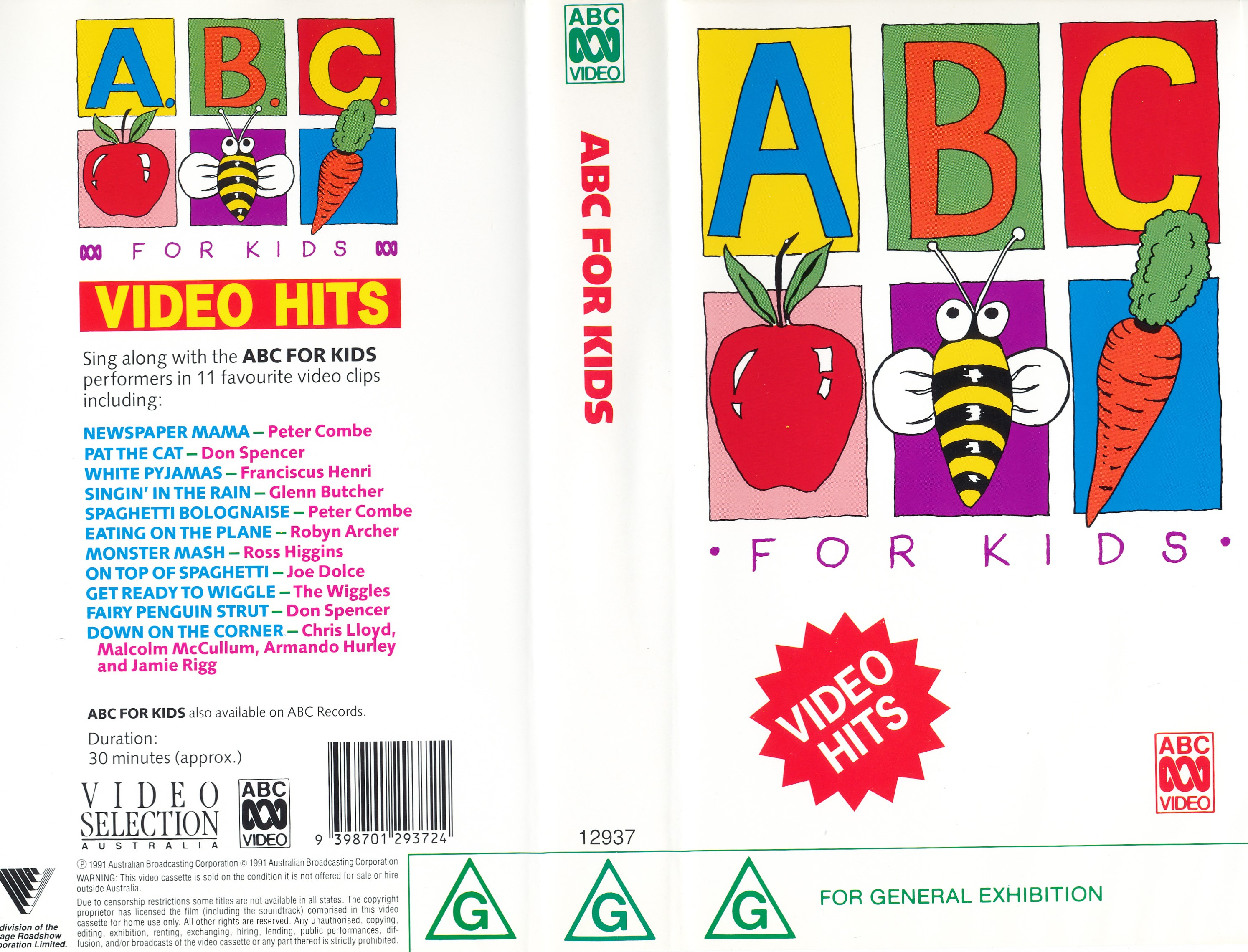 ABC For Kids Video Hits