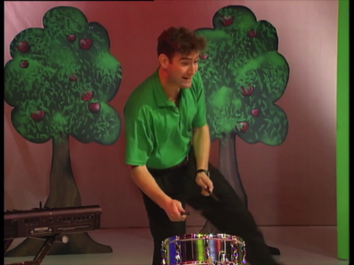 Anthony's Drum Playing Skit