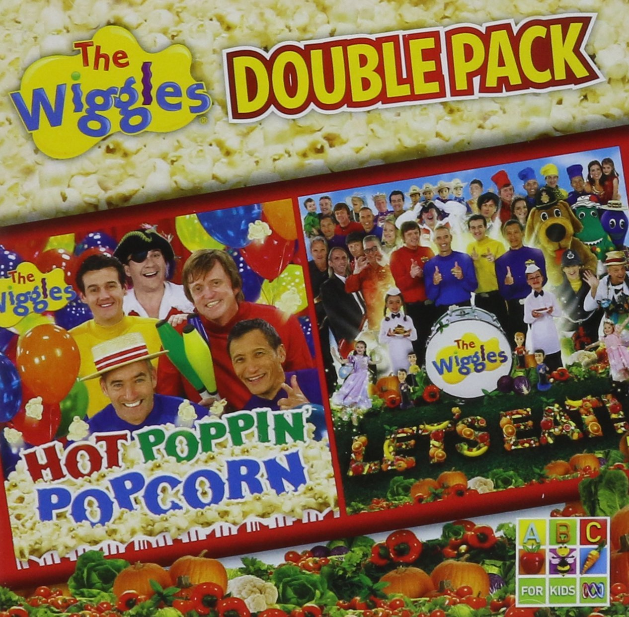 Double Pack: Hot Poppin' Popcorn + Let's Eat!