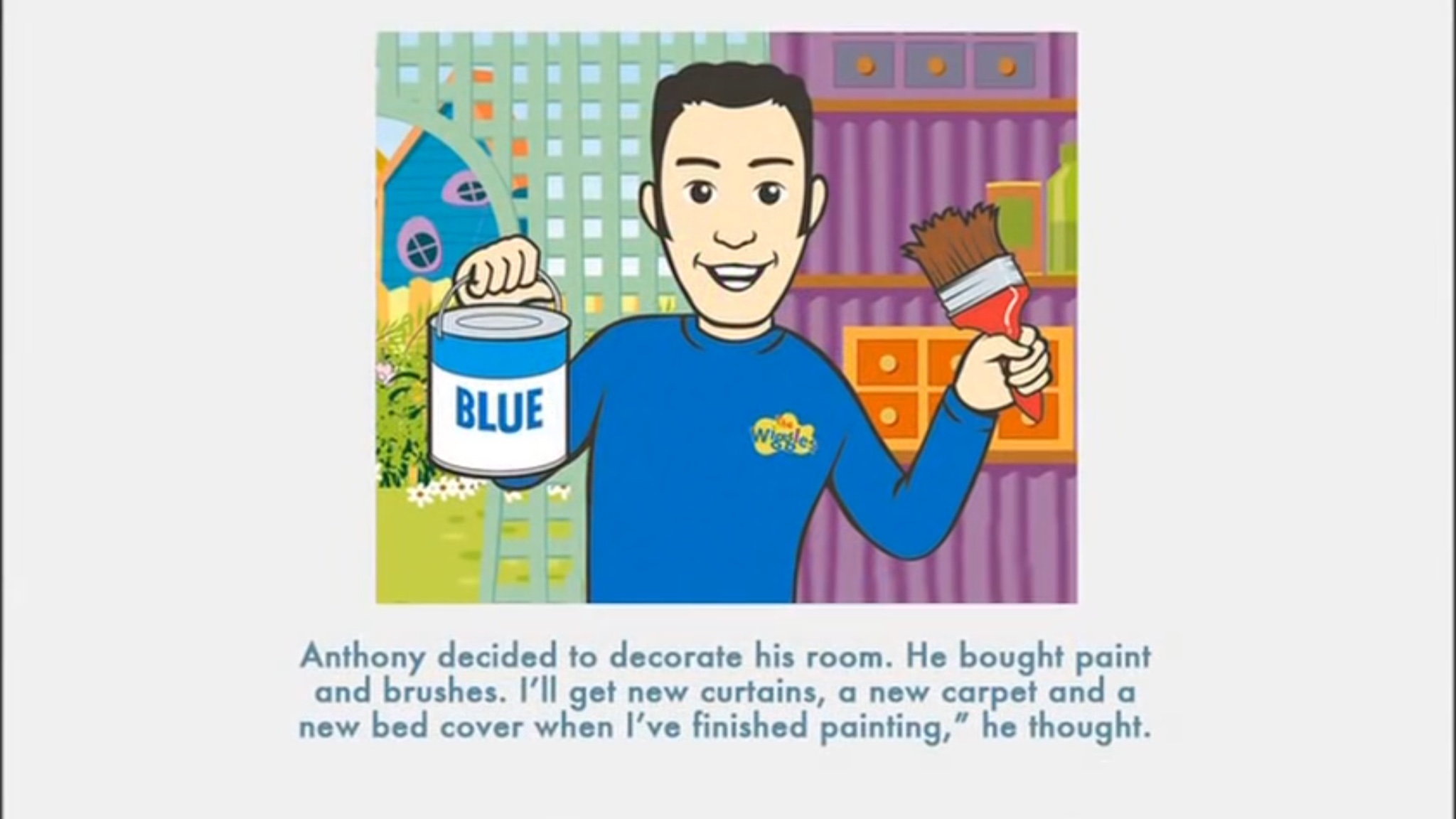 Anthony is Blue