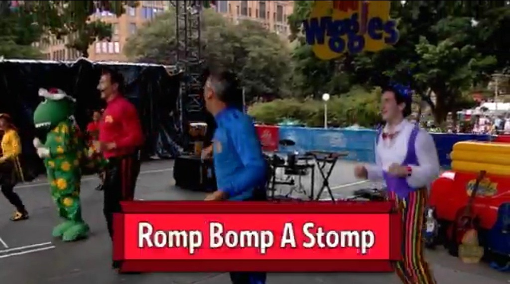 Romp Bomp a Stomp (Ready, Steady, Wiggle! episode)