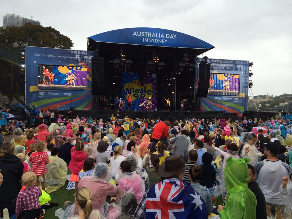 Australia Day 2015 Concert Footage