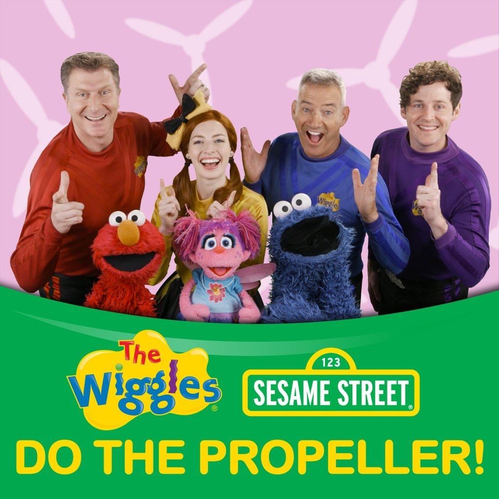 Do the Propeller with Sesame Street!