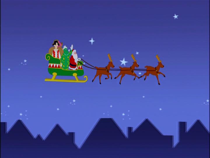 Riding On Santa's Sleigh (Reprise)
