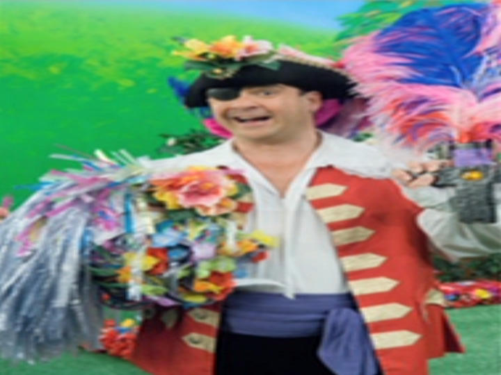 Captain Feathersword and the Hibiscus Flowers/Transcript