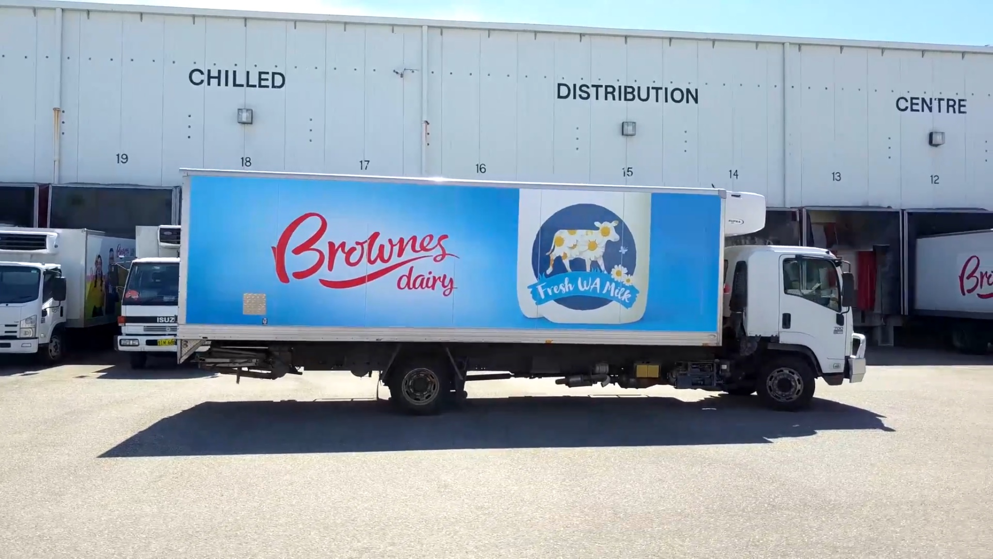 I Drive a Truck for Brownes Dairy!
