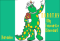 D.O.R.O.T.H.Y.MyFavouriteDinosaurKaraokeSongTitle